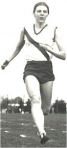 Photo of Marg MacGowan in running attire